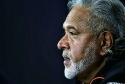 Dr. Vijay Mallya, proprietario del Sahara Force India Formula One Team