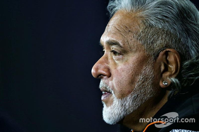 Dr. Vijay Mallya, Force-India-Teambesitzer