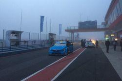 La nebbia sulla pista di Termas de Rio Hondo