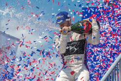 Podium: winner Sam Bird, DS Virgin Racing