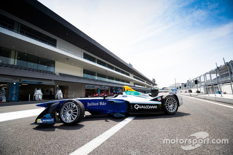 The Formula E show car