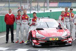 Dieter Gass, Jefe de DTM Audi Sport, Loic Duval, Audi Sport Team Phoenix, Audi RS 5 DTM, René Rast,