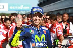 Troisième place pour Valentino Rossi, Yamaha Factory Racing