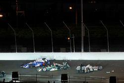 Will Power, Team Penske Chevrolet, Ed Carpenter, Ed Carpenter Racing Chevrolet, Takuma Sato, Andrett