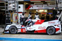 #9 Toyota Gazoo Racing Toyota TS050 Hybrid: Nicolas Lapierre, Yuji Kunimoto, Jose Maria Lopez
