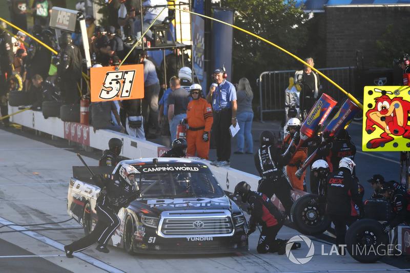Harrison Burton, Kyle Busch Motorsports, Toyota, Sunoco