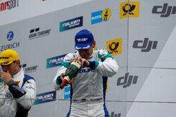 Podium: #44 Team Falken Motorsport, Porsche 991 GT3-R: Jörg Bergmeister