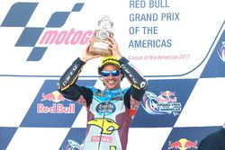 Podium: race winner Franco Morbidelli, Marc VDS