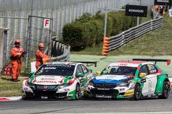 Norbert Michelisz, Honda Racing Team JAS, Honda Civic WTCC, Mehdi Bennani, Sébastien Loeb Racing, Ci