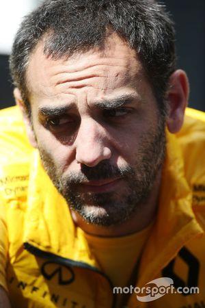 Cyril Abiteboul, directeur général, Renault Sport F1 Team