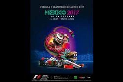 Poster del GP de México 2017