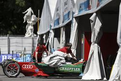 Team area ABT Schaeffler Audi Sport