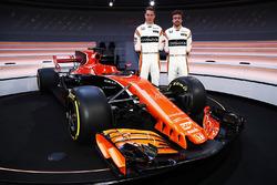 Fernando Alonso, McLaren, et Stoffel Vandoorne, McLaren