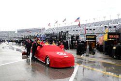 The car of Kyle Larson, Chip Ganassi Racing Chevrolet