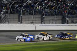 Johnny Sauter, GMS Racing Chevrolet; Kaz Grala, GMS Racing Chevrolet e Chase Briscoe, Brad Keselowsk