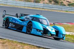 Forze VII hydrogen race car testing