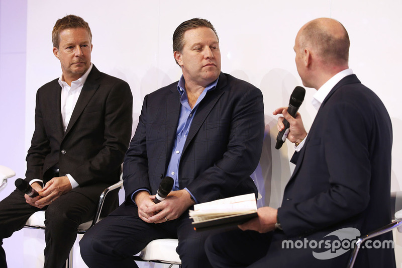 Richard Dean, Zak Brown, Toby Moody