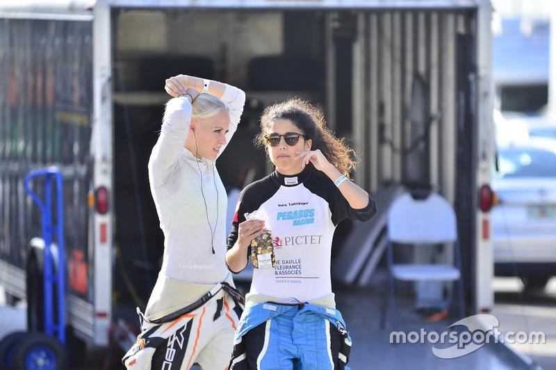 #113 MP2B KTM X-Bow of Inès Taittinger & Laura Kraihamer of ANSA Motorsports