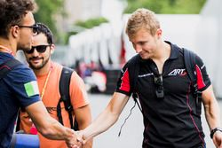 Luca Ghiotto, RUSSIAN TIME and Sergey Sirotkin, ART Grand Prix