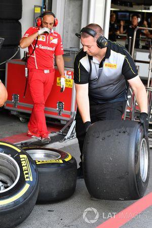 Ingénieur et pneus Pirelli