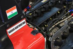 Detail: Auto von Narain Karthikeyan