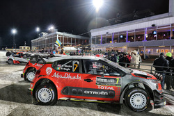 La voiture de Kris Meeke, Paul Nagle, Citroën C3 WRC, Citroën World Rally Team