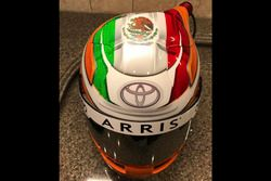 Casco de Daniel Suárez, Joe Gibbs Racing