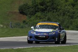 #25 Freedom Autosport Mazda MX-5: Stevan McAleer, Chad McCumbee