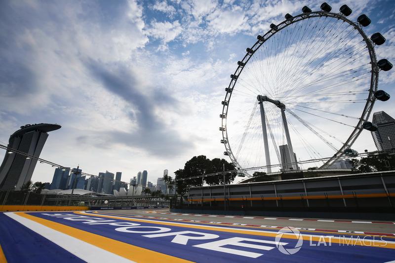 Il Singapore Flyer e l'ultima curva