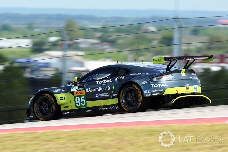 #95 Aston Martin Racing Aston Martin Vantage: Nicki Thiim, Marco Sorensen