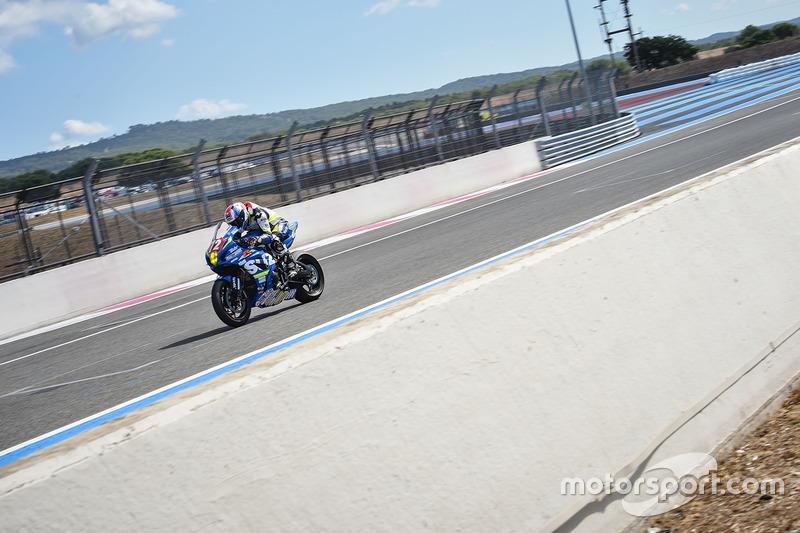 18. #72 Junior Team Le Mans Sud Suzuki, Suzuki: Robin Camus, Cedric Tangre, Hugo Clere