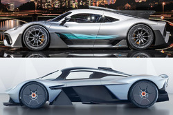 Mercedes-AMG Project One, Aston Martin Valkyrie comparison