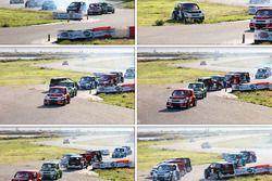 #41 Ümit Erdim kaza yapıyor