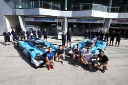 #25 Algarve Pro Racing; Ligier JSP2 Nissan: Andrea Roda, Aidan Read, Andrea Pizzitola; #24 Algarve P