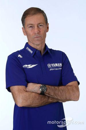 Lin Jarvis, directeur général du Yamaha Factory Racing