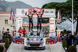 Race winners Sébastien Ogier, Julien Ingrassia, Ford Fiesta WRC, M-Sport