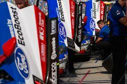 #66 Ford Performance Chip Ganassi Racing Ford GT: Joey Hand, Dirk Müller, Sébastien Bourdais, #67 Ford Performance Chip Ganassi Racing Ford GT: Ryan Briscoe, Richard Westbrook, Scott Dixon, #68 Ford Performance Chip Ganassi Racing Ford GT: Billy Johnson, Stefan Mücke, Olivier Pla