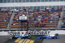 Max Chilton, Chip Ganassi Racing Honda Scott Dixon, Chip Ganassi Racing Honda