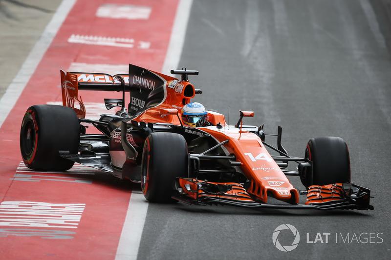 20. Фернандо Алонсо, McLaren MCL32