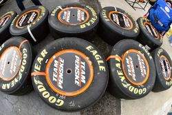 Brad Keselowski, Team Penske Ford, llantas