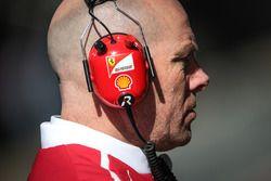 Geoff Willis, directeur technologie Mercedes AMG F1 W08