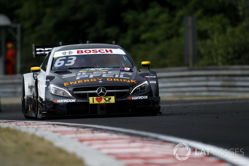15. Maro Engel, Mercedes-AMG Team HWA, Mercedes-AMG C63 DTM