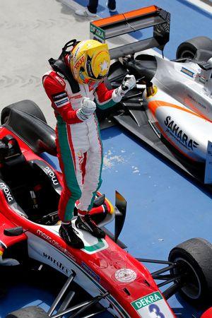 Le vainqueur Maximilian Günther, Prema Powerteam Dallara F317 - Mercedes-Benz