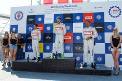 Podio Gara 2: Alberto Cerqui, Simone Iaquinta, Tobia Zarpellon