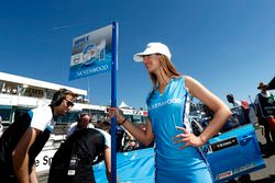 Chica de la parrilla de Nestor Girolami, Polestar Cyan Racing, Volvo S60 Polestar TC1