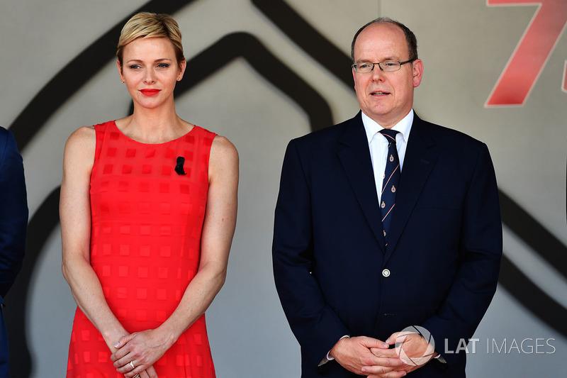 Monaco Prensesi, Charlene Wittstock ve Monaco Prensi Albert