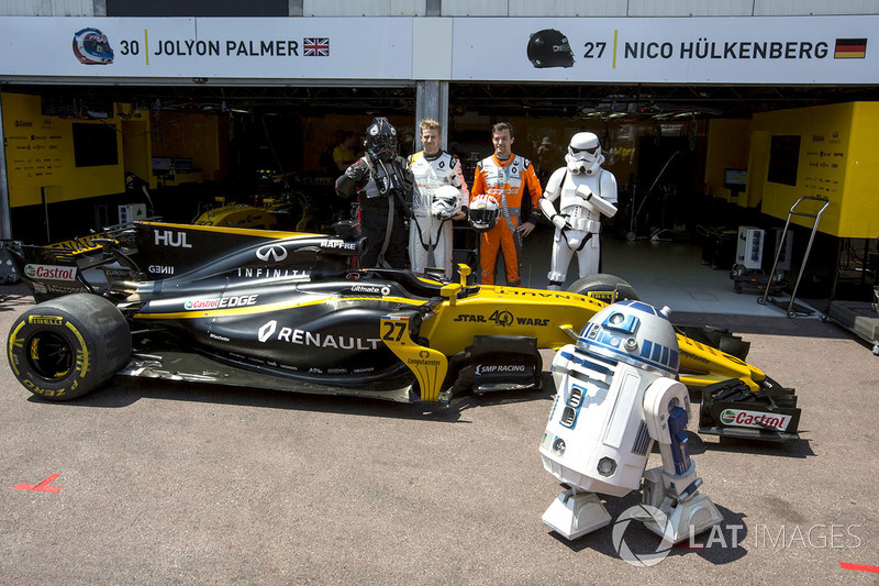 GP Monaco 2017 - Renault