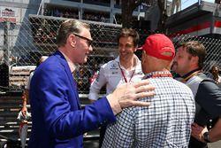 Niki Lauda, Mercedes AMG F1 Non-Executive Chairman, Toto Wolff, Mercedes AMG F1 Director of Motorspo
