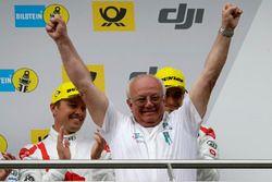 Podium: Wolfgang Land, Team principal Audi Sport Team Land-Motorsport