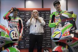 Luca Marini, Forward Racing and Lorenzo Baldassarri, Forward Racing avec une nouvelle livrée